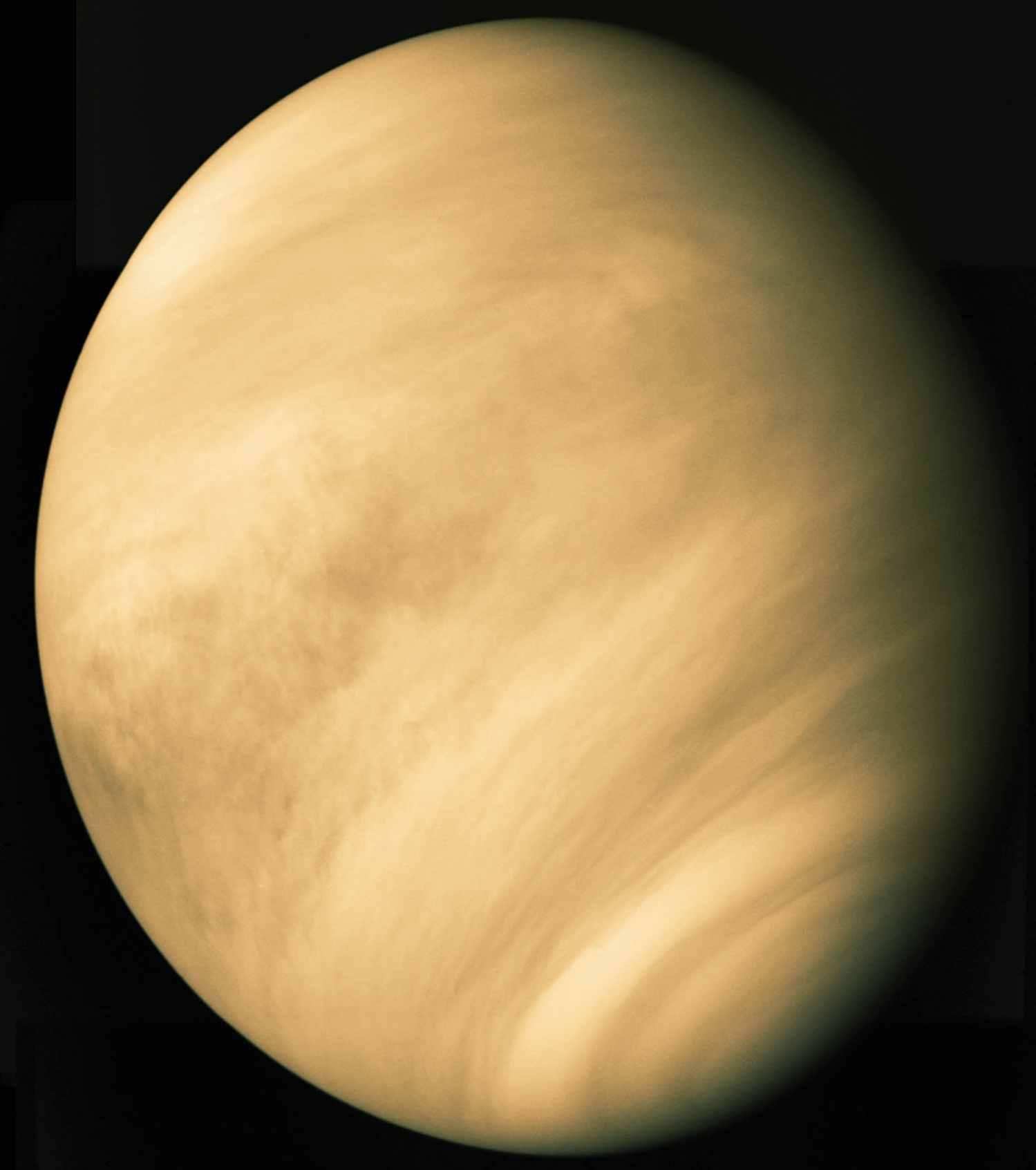 Todo sobre el Sistema Solar - Planeta Venus