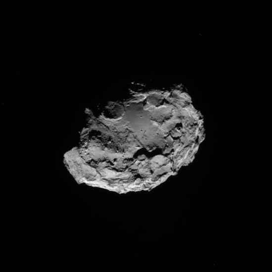 El cometa 67P/Churiumov-Guerasimenko - 13 de Agosto 2014