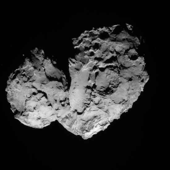 El cometa 67P/Churiumov-Guerasimenko - 18 de agosto de 2014