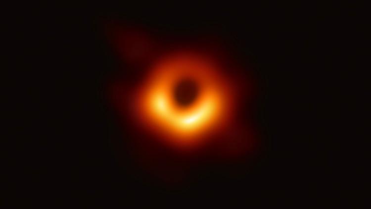 Imagen con zoom del Agujeron Negro