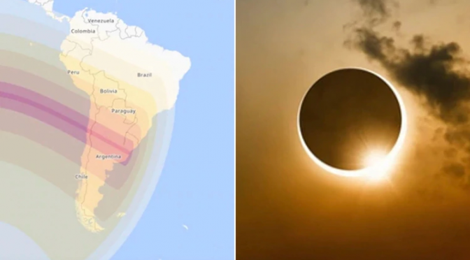 Eclipse solar 2019 – 2 de julio de 2019