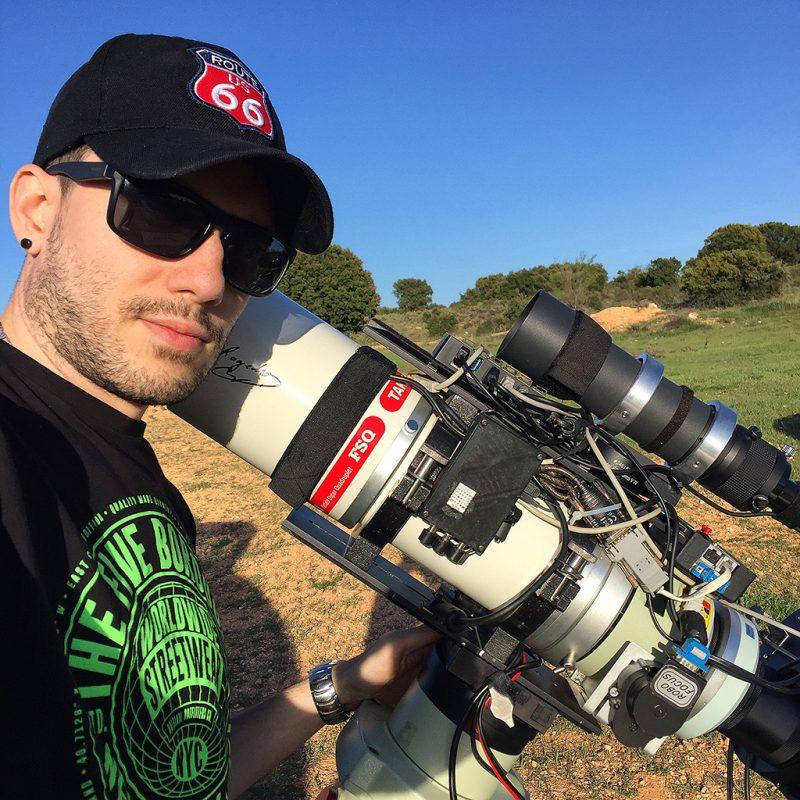 Astrofotógrafo Álvaro Ibáñez Pérez