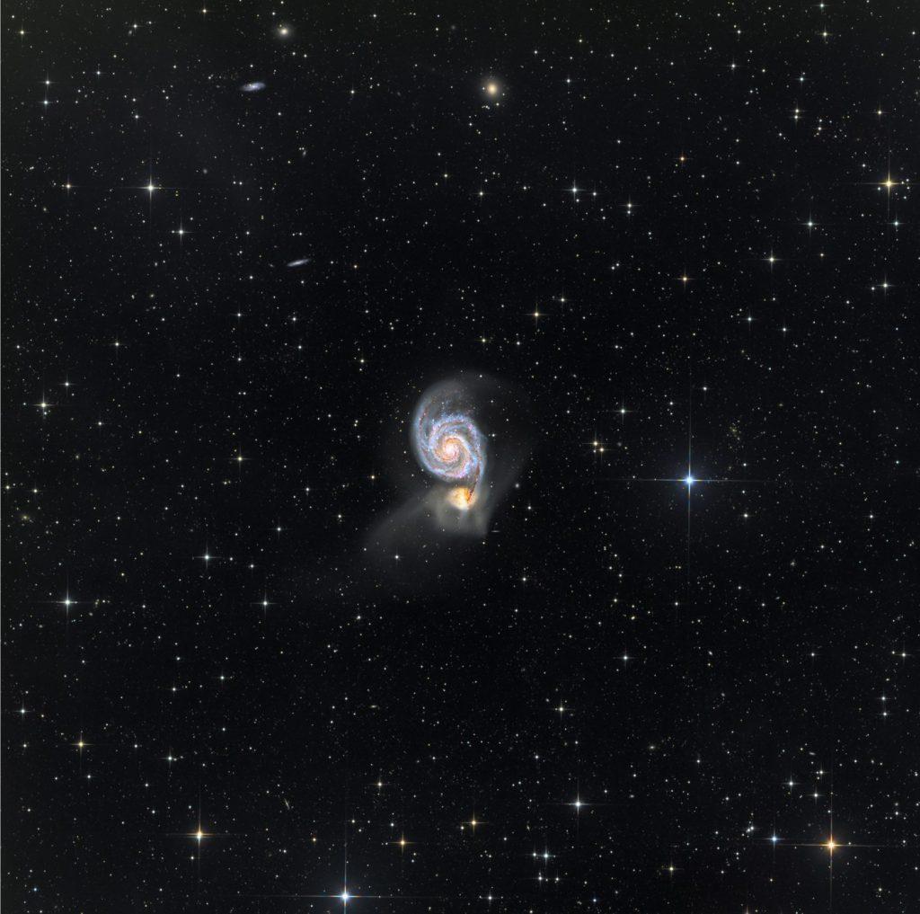 M51 Galaxia Remolino