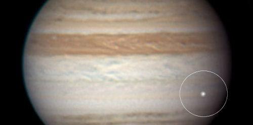 mpacto astronómico en Júpiter de 2010