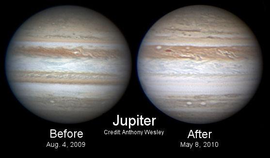 Nubes de Júpiter